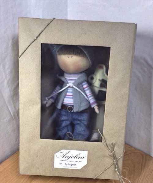 кукла тильда мальчик