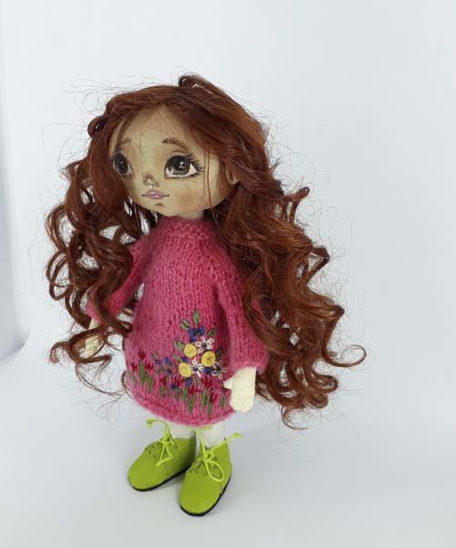 текстильная кукла в молдове