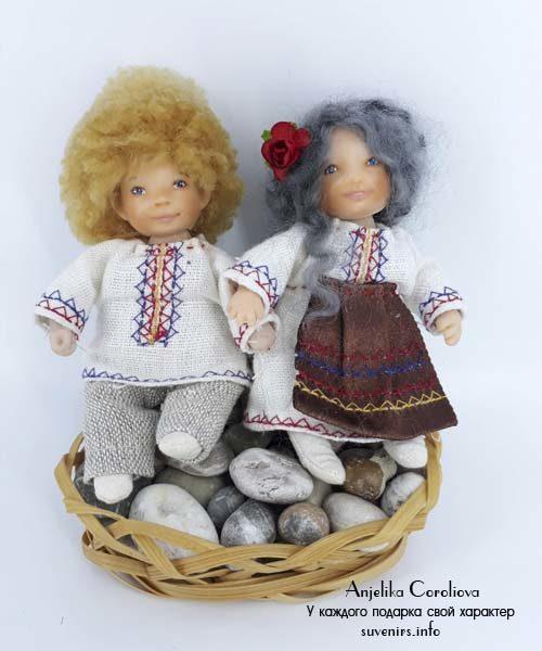 Национальные молдавские куклы