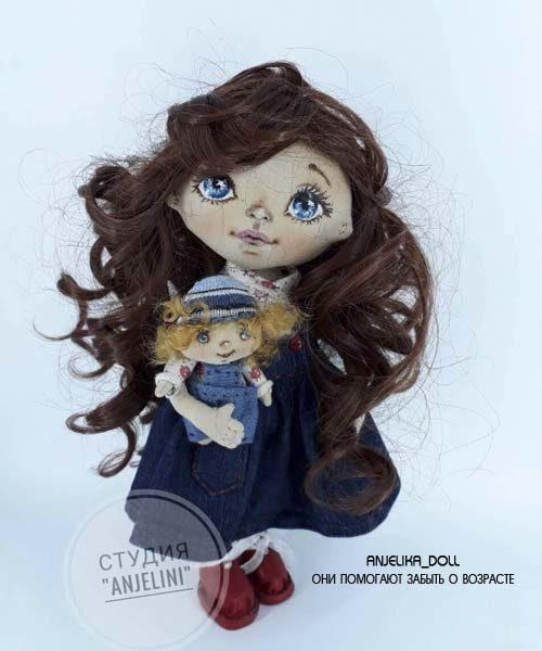 Текстильная Кукла в Кишиневе